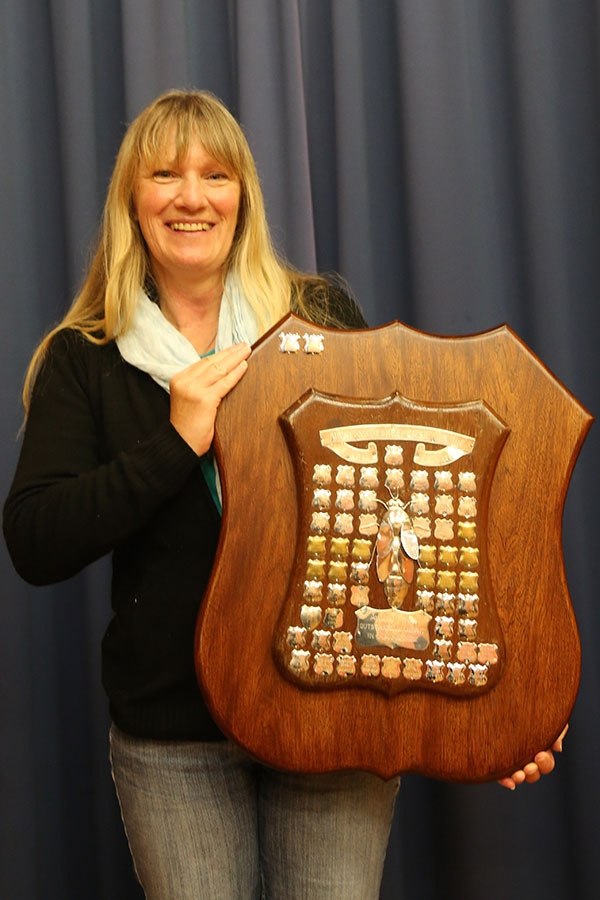 AGM 2013 Club Shield winner Robin Brehmer